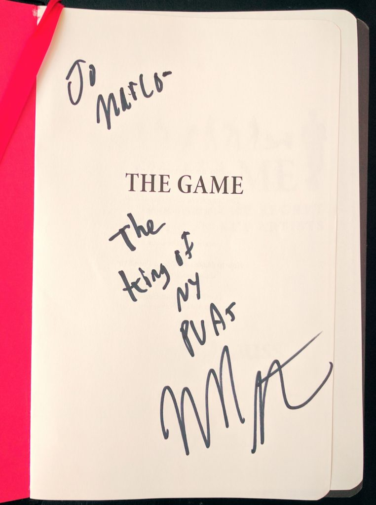 Neil Strauss The Game Book - Pickup Artist Community